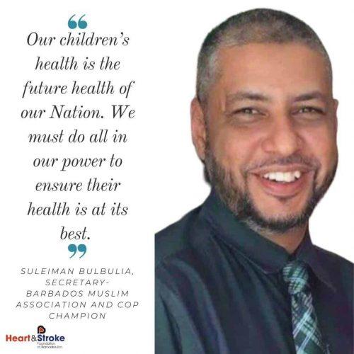 Chairperson of the Coalition Mr. Suleiman Bulbulia