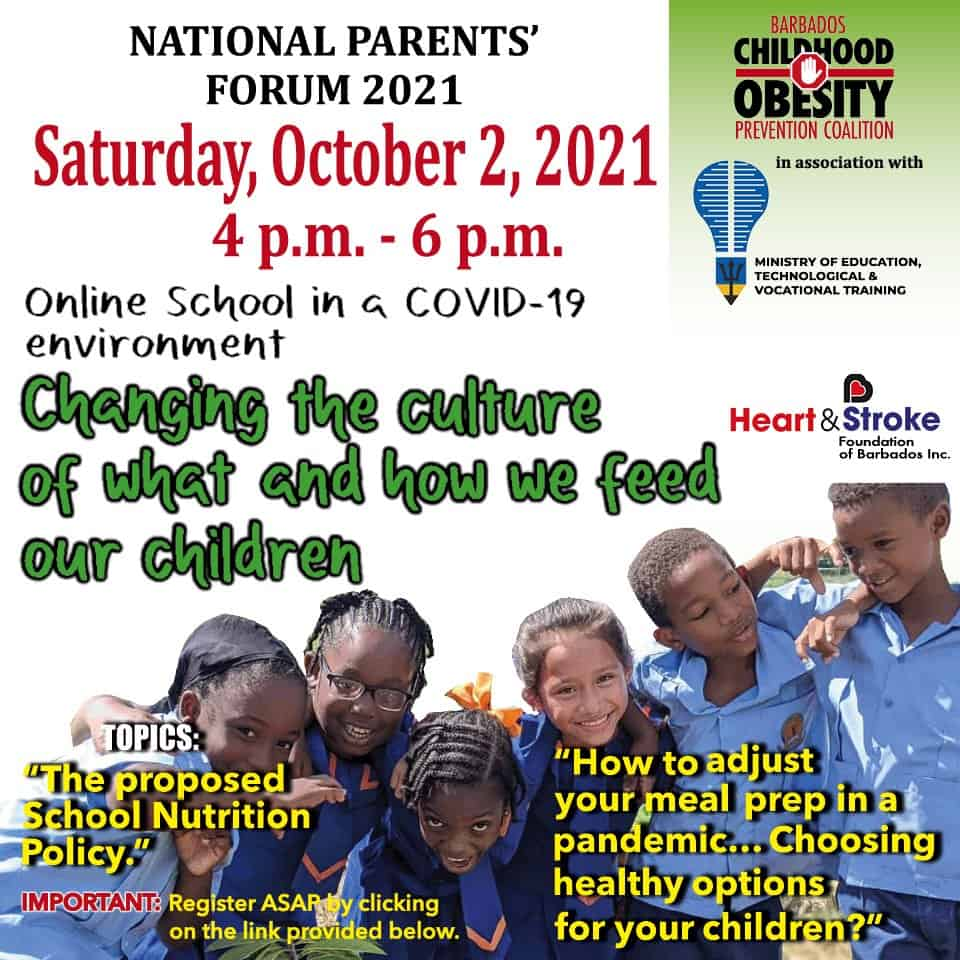 Register NOW for the National Parents' Forum 2021 Virtual Meeting